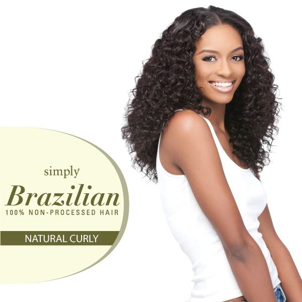 Outre Simply 100 Non Processed Brazilian Natural Curly Natural