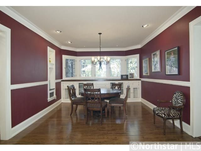 Best Dark Maroon And White Dining Room Maroon Room 400 x 300
