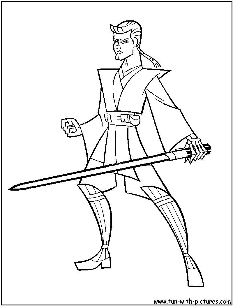 Star Wars Clone Wars Coloring Pages Jedi. Explore Disney Star Wars  Stars and more Pin by spetri marvel Comics on LineArt Pinterest