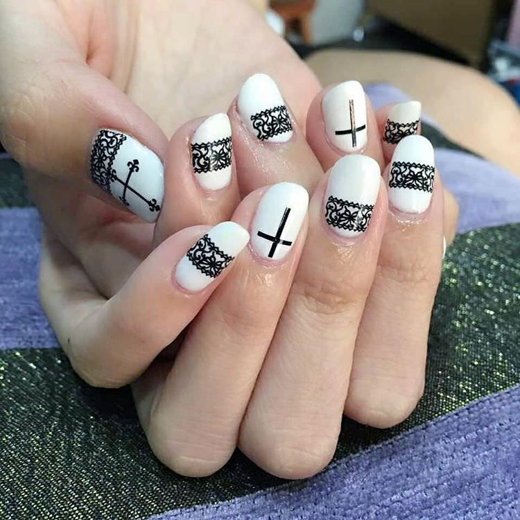Image result for black nail designs | Nails and More | Pinterest ...