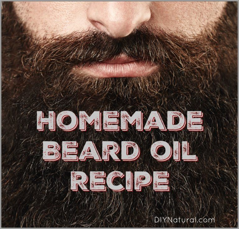 Beard Oil Recipe: Homemade Beard Oil to Soften Your Beard Naturally