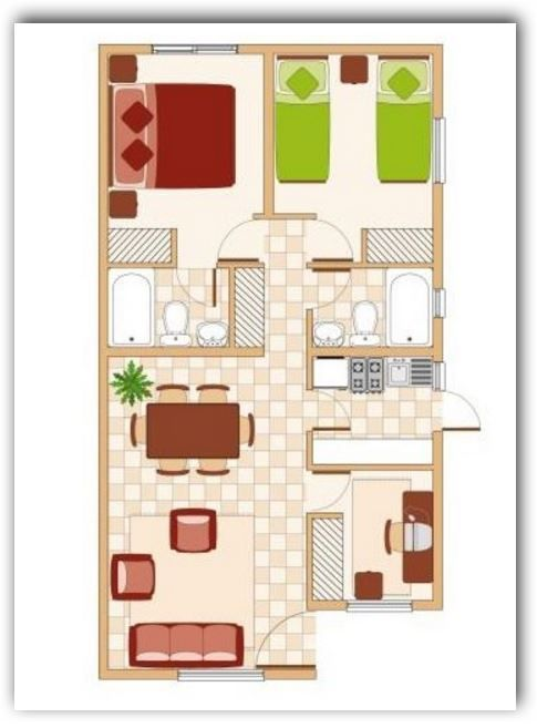 Small Apartment Room Ideas