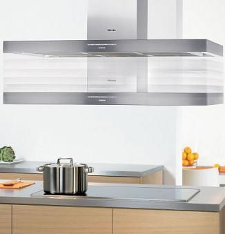 miele motorized height adjustable ventilation hood for modern hi tech kitchen kitchen island on kitchen remodel vent hood id=97180