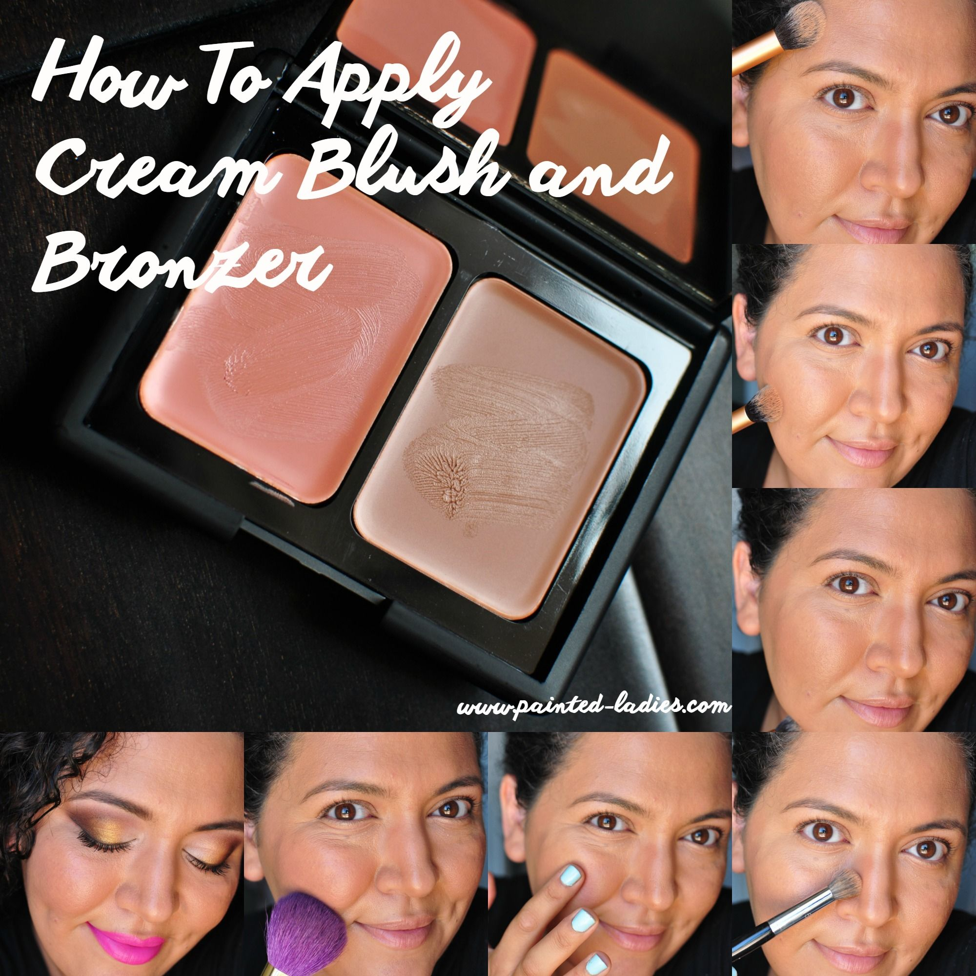 How To Apply Cream Blush And Bronzer