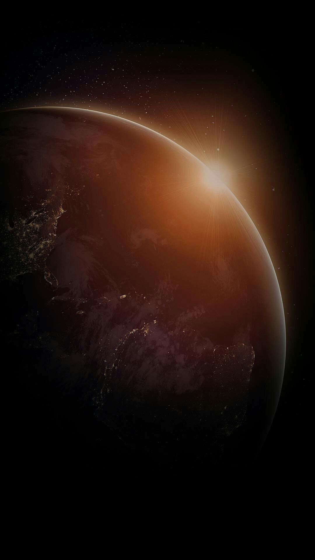 Iphone Backgrounds Wallpaper Wallpapers Dark Space Program Outer Samsung Galaxy Waves Nature