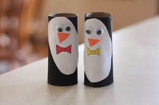 Titina's Art Room: 12 easy penguin crafts... for kids to make!