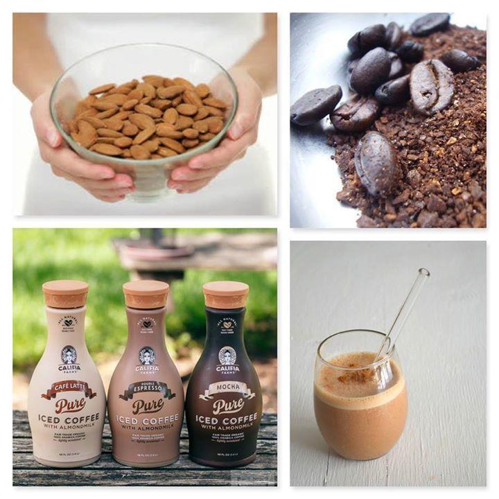 Califia farms rich coldbrewed coffee and creamy almond