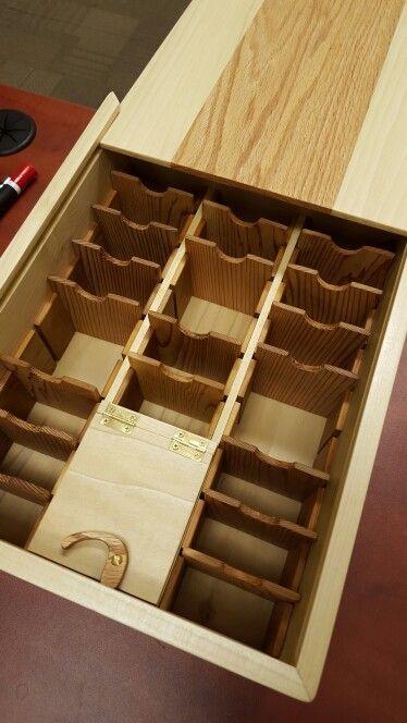 Card Deck Box Inside Movable Dividers Deck Box Diy Trading Card Storage Diy Card Box