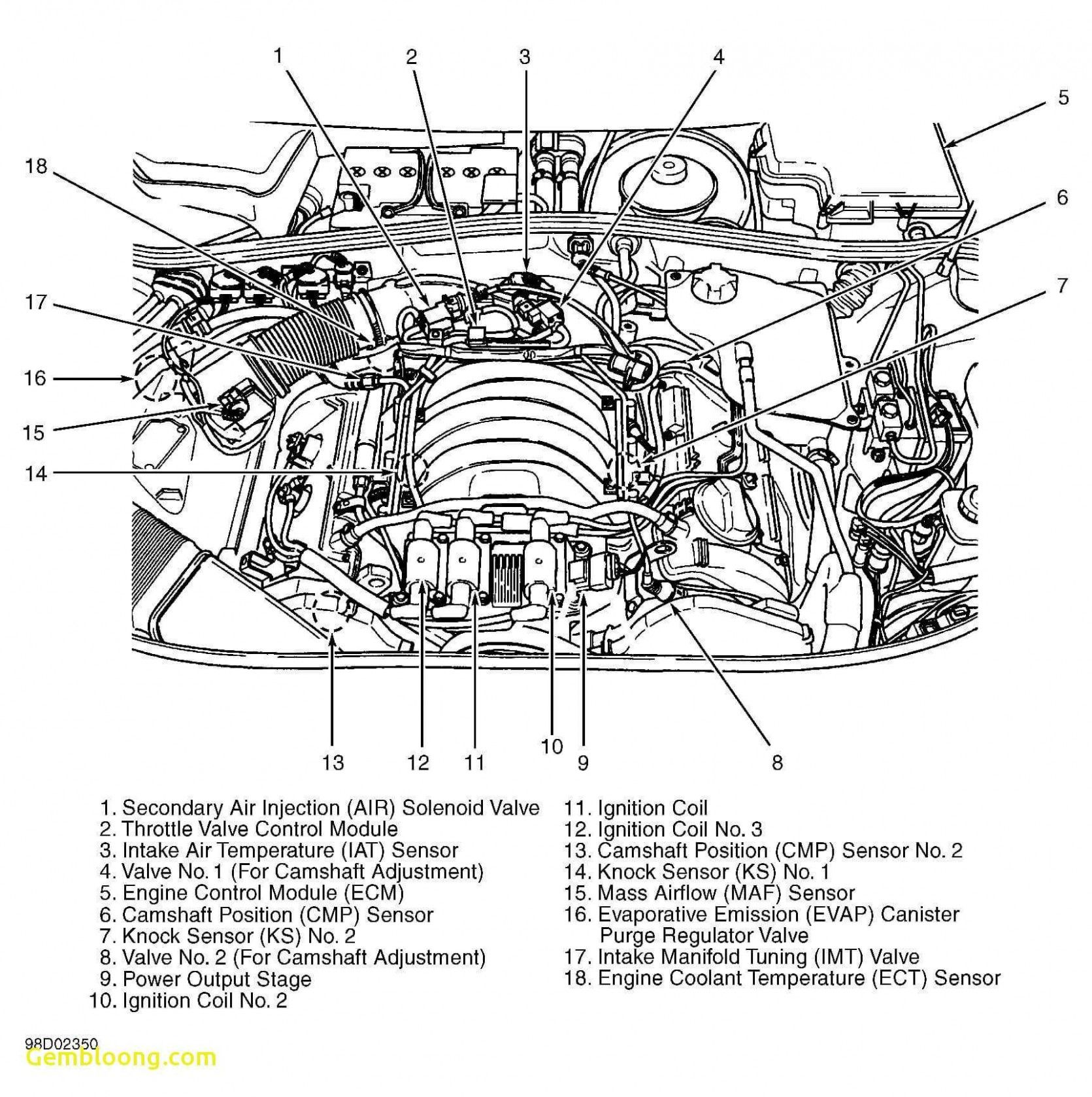 Parts Of An Engine Diagram Di