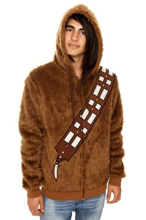 Star Wars Chewbacca Fur Hoodie Chewbacca - Hoodie will turn you into chewbacca from star wars