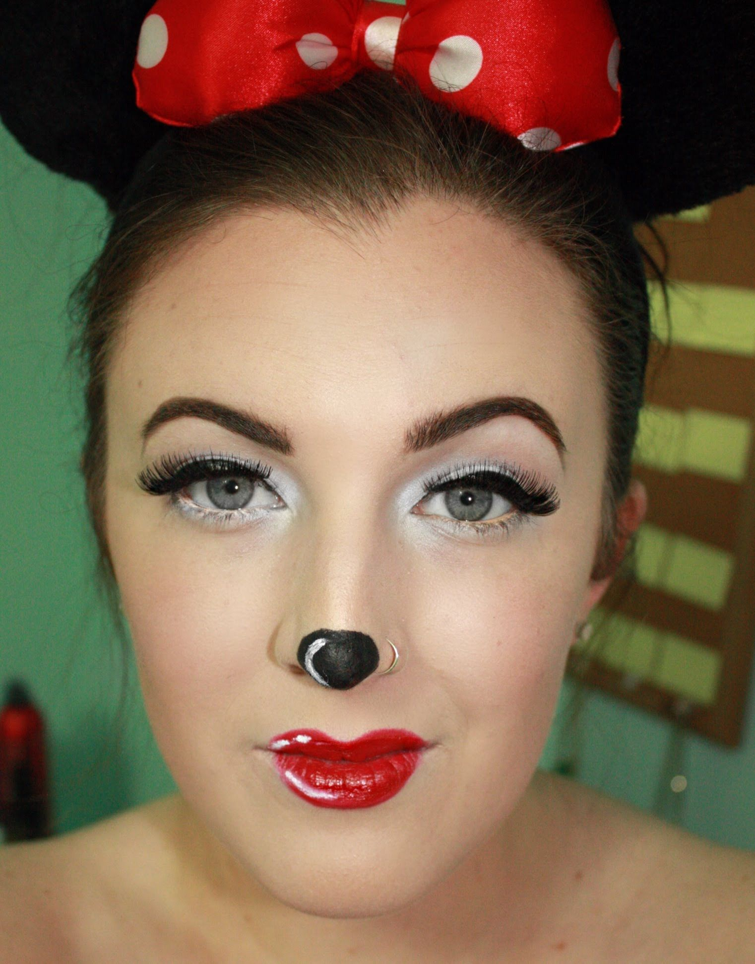 Minnie Mouse Halloween Makeup Tutorial | Holidays | Pinterest ...