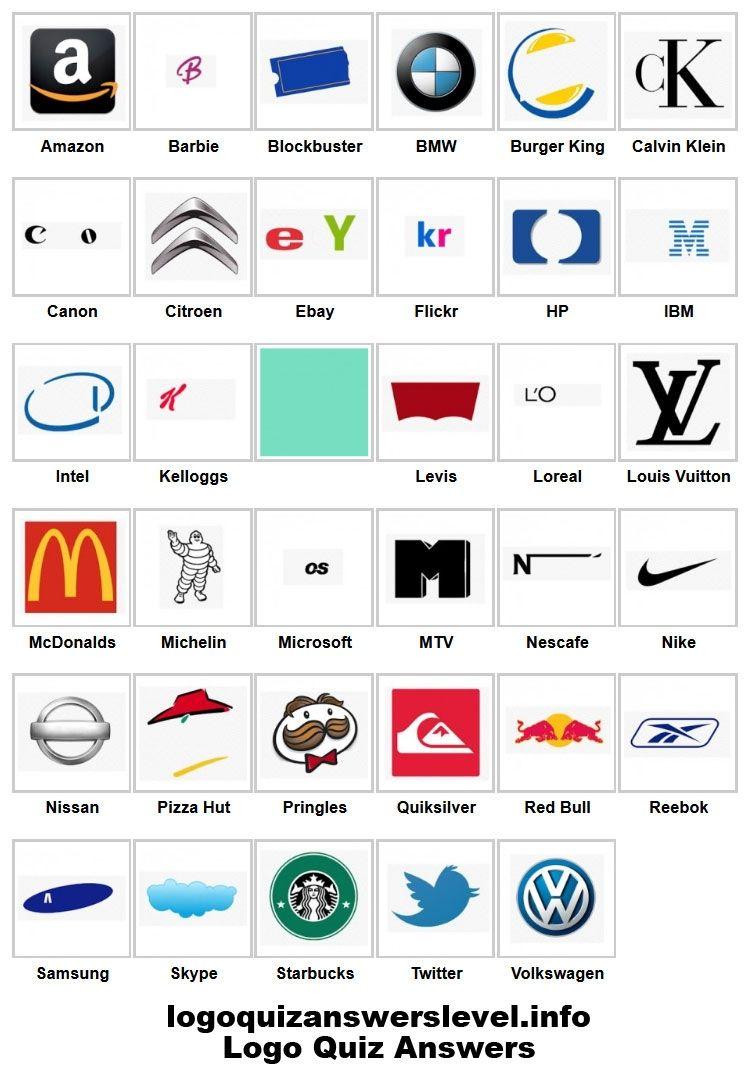41 Elegant Logo Quiz Ideas Logo quiz answers, Logo quiz