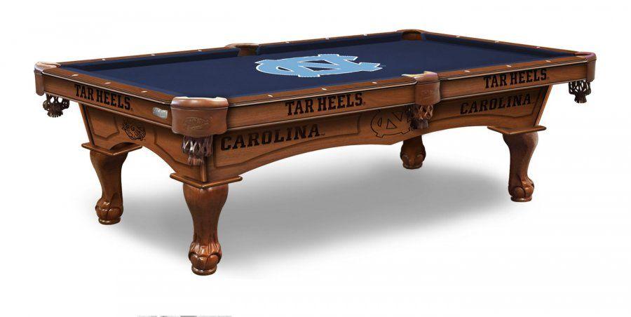 North Carolina Tar Heels Pool Table Pool Table Classy Man Cave Pool Table Games