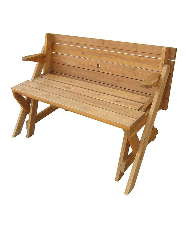 Look At This Merry Products Convertible Picnic Table