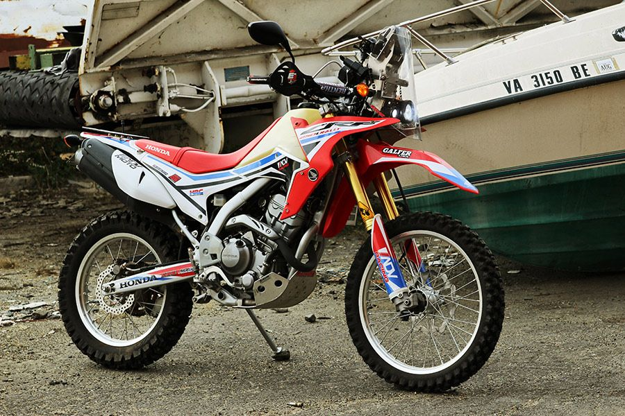 Project Bike Honda Crf 250l Rally Replica