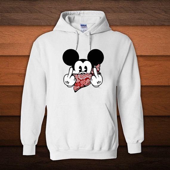 Disney Girls Mickey Mouse Surf Shop Sweatshirt