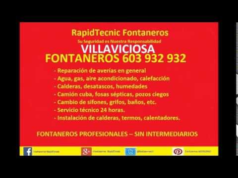 Fontaneros Villaviciosa 603 932 932 baratos