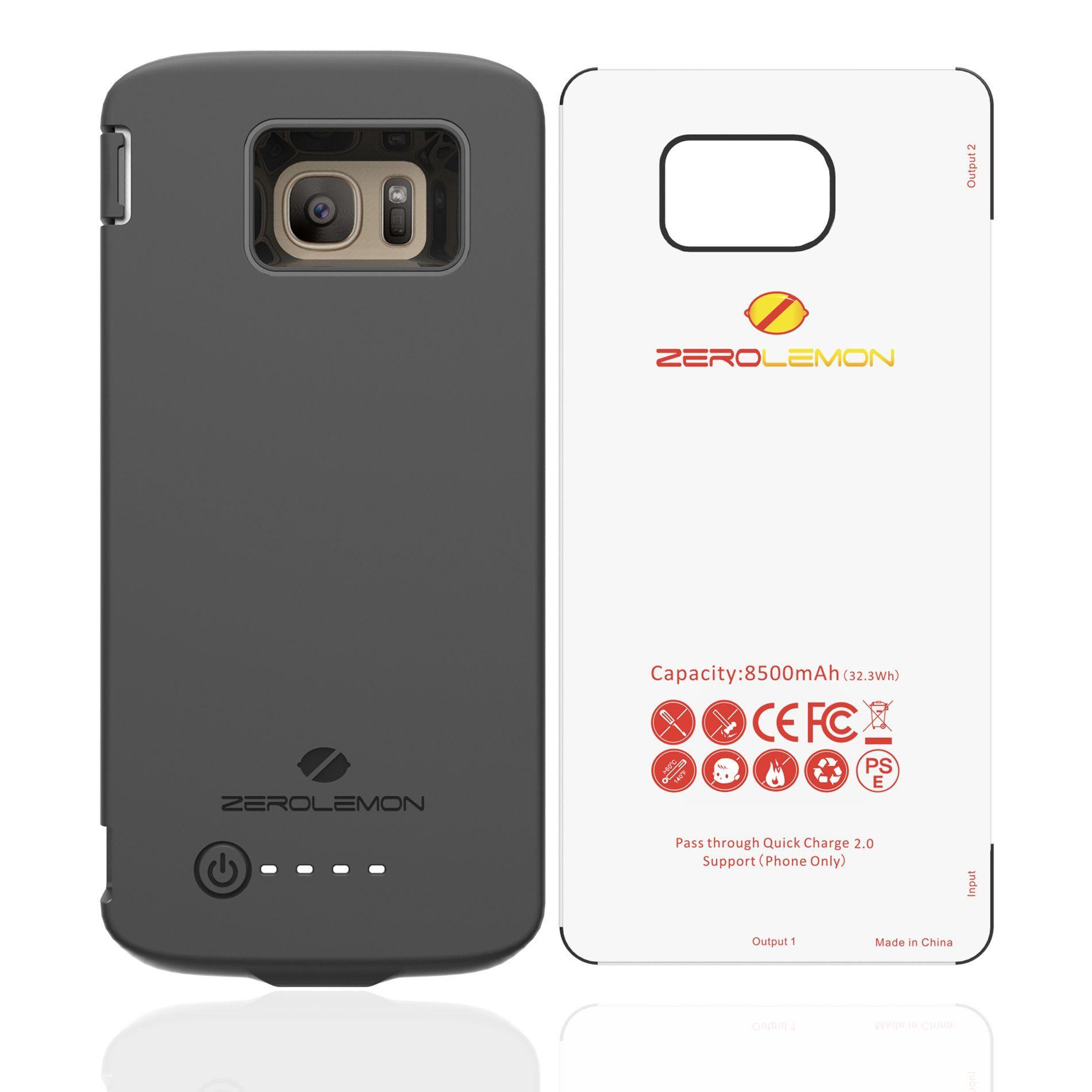 Samsung Galaxy S7 Edge Battery Case 9H Screen Protector