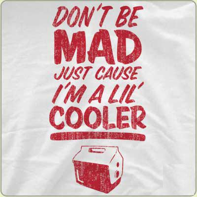 Don't Be Mad Just Cause I'm A Lil Cooler Funny T-Shirt