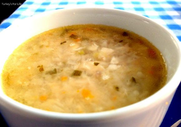 Fish Soup (Balık Çobası) At Duru Balık in the centre of #Bodrum