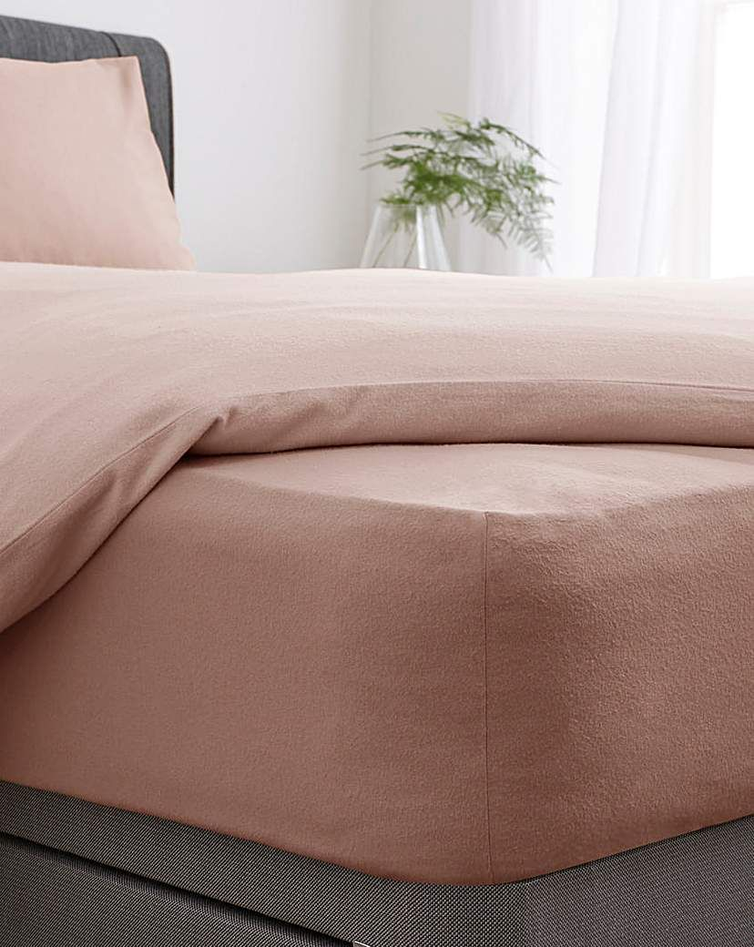Brushed Cotton Extra Deep Fitted Sheet In 2021 Fitted Sheet Brushed Cotton Creating Texture