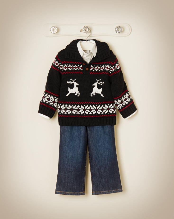 Reindeer Fair Isle Sweater | A Timeless Holiday | Pinterest | Boy ...