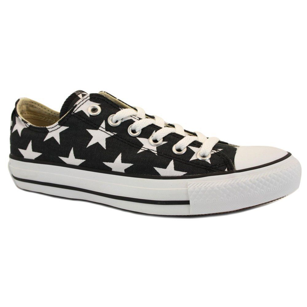 73c5d43bd2e6 Converse Chuck Taylor Star Ox Womens Canvas Laced Trainers  Amazon.