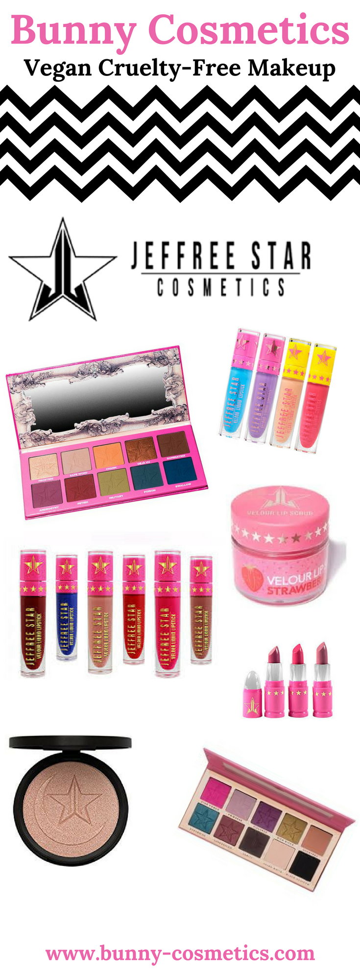 Vegan CrueltyFree Makeup Brand JEFFREE STAR COSMETICS