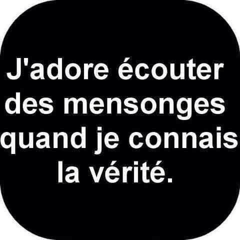Citation Mensonge