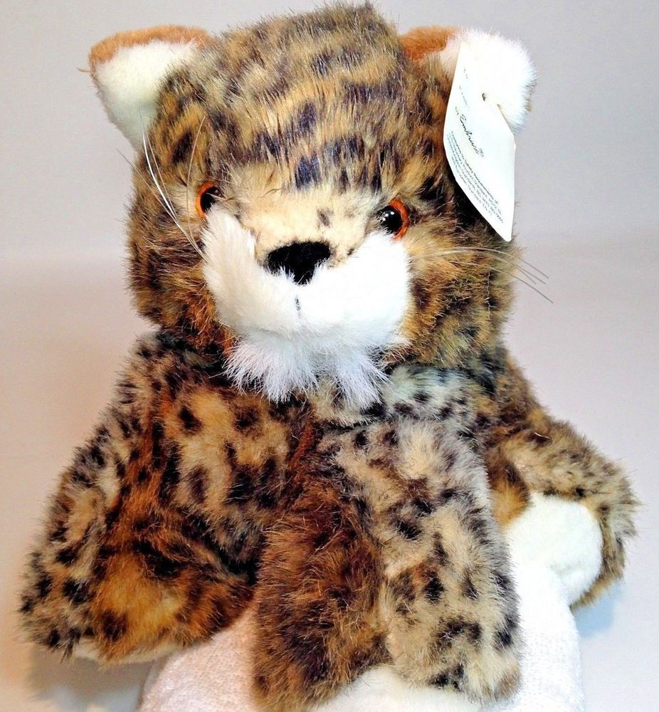 Embrace Baby Cheetah Spotted Leopard Plush Wild Cat