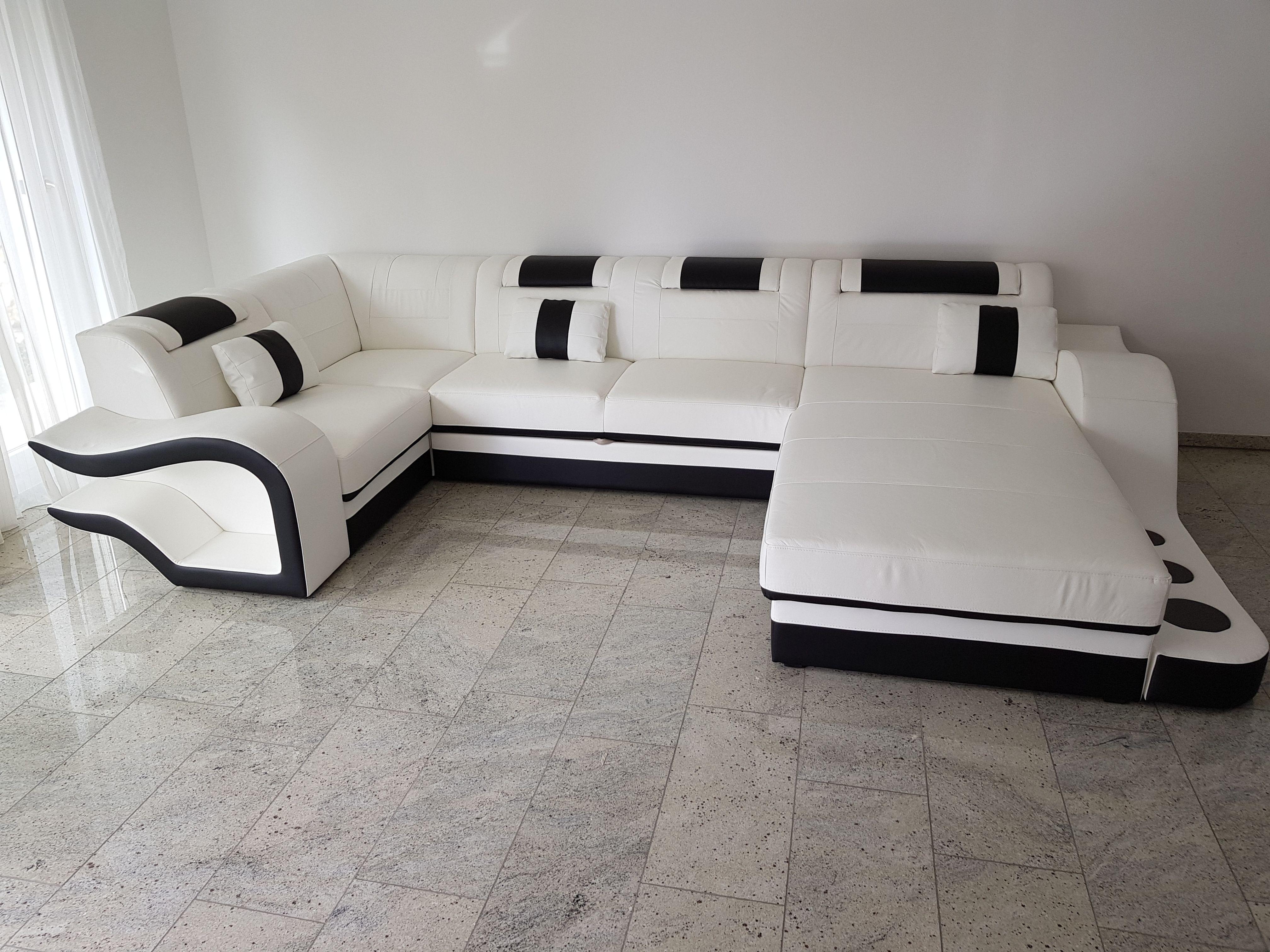 Designer Sofa Hermes Xl Mit Led Beleuchtung Kundenfotos Nativo