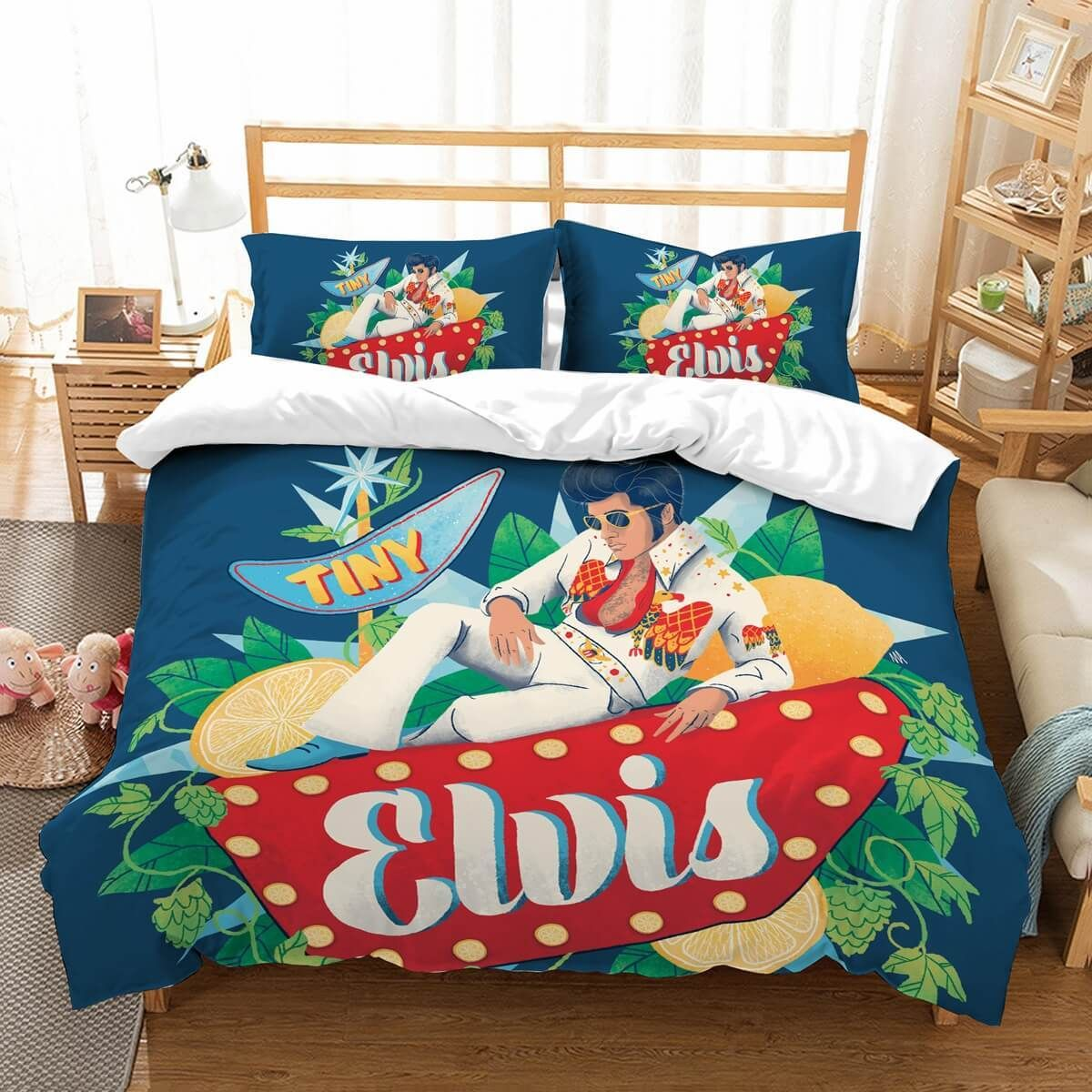 Elvis Presley Bedding Sets.3d Customize Elvis Presley Bedding Set Duvet Cover Set