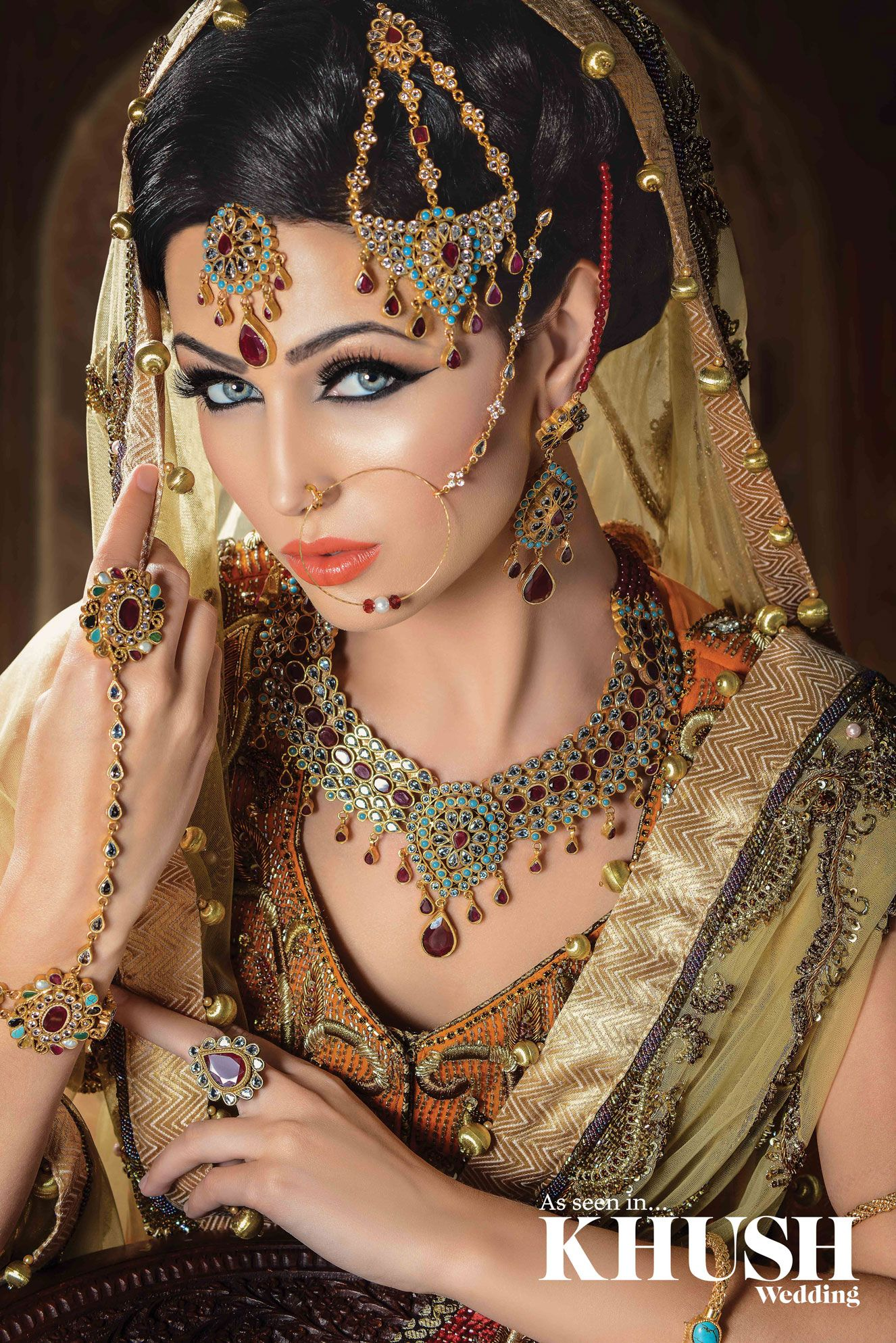 Raya Beauty exquisite makeup look featured in Khush