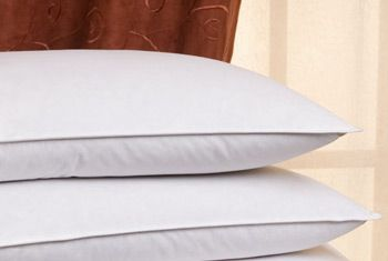 our favorite pillow is the pacific coast down and feather pillow featured in hilton hotels