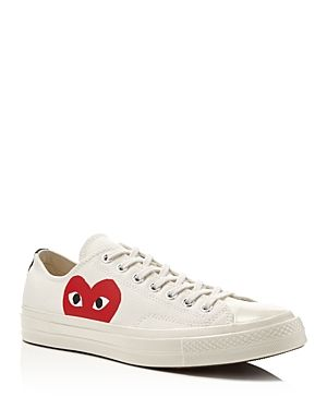 12ea446d5d1b COMME DES GARÇONS PLAY X CONVERSE MEN S CHUCK TAYLOR LACE UP SNEAKERS.   commedesgarçonsplay  shoes