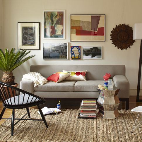 loving this minimalist sofa - lorimer from west elm