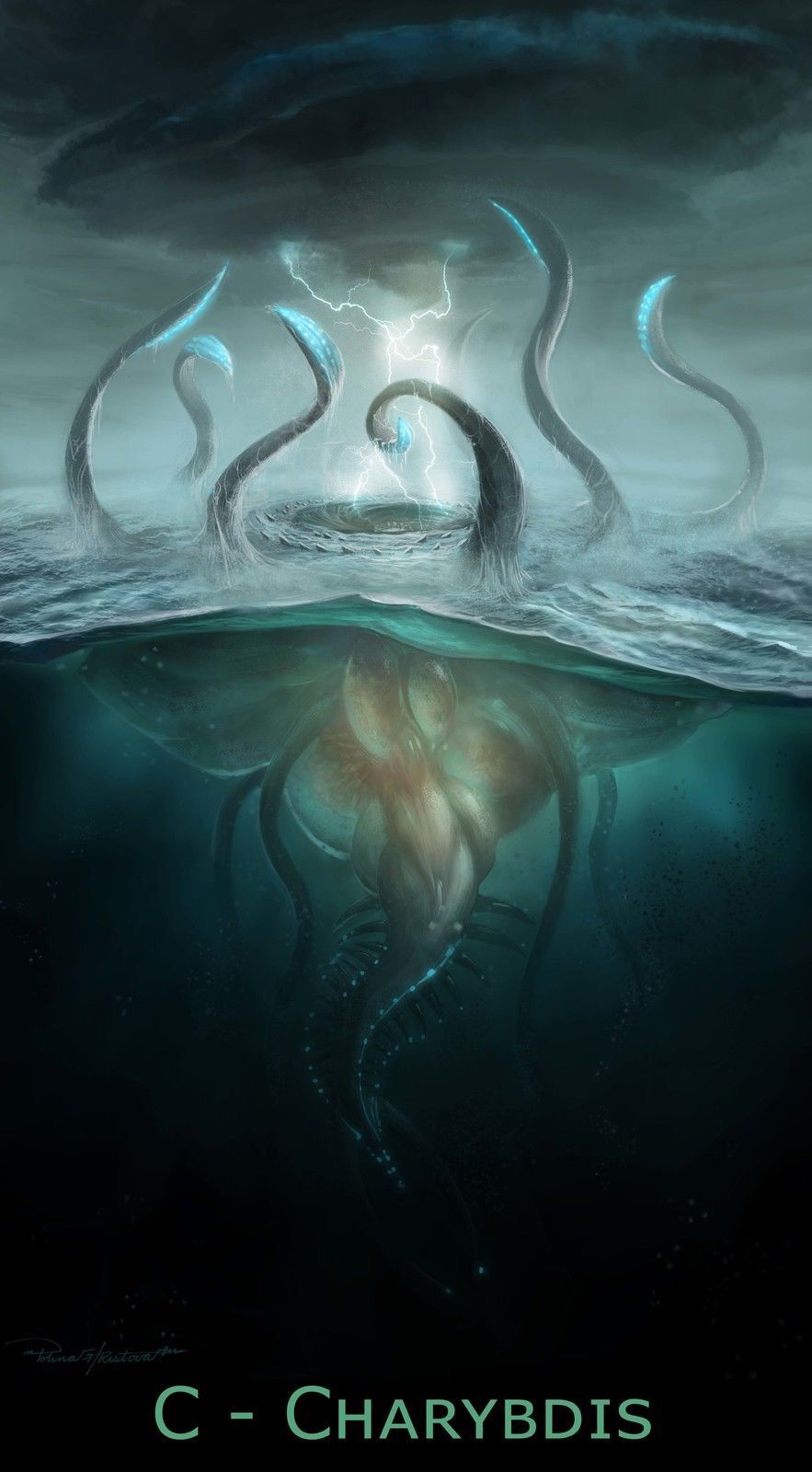 what does charybdis look like