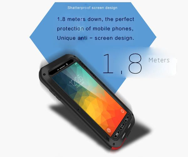 Love Mei Samsung Galaxy Note 5 Powerful Case