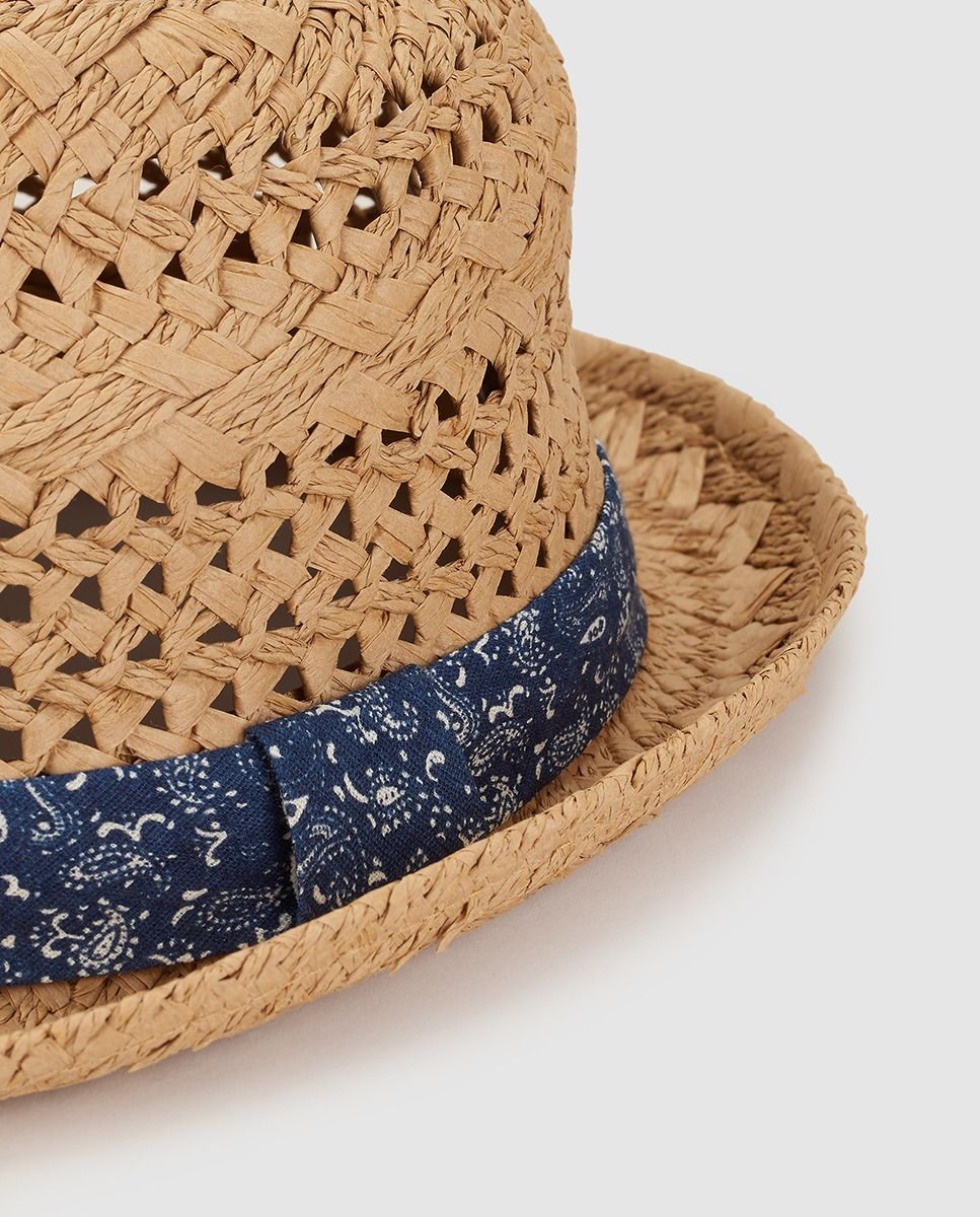 e74cc3bae9 Sombrero de niño Brotes en natural · Brotes · Moda · El Corte Inglés ...