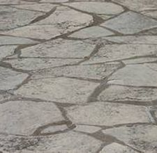 How To Paint A Floor Look Like Flagstone Outdoor Es