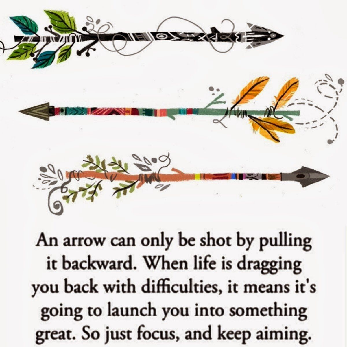 Arrow Quotes Life Arrow Quote Motivation  Quotes  Pinterest  Arrow Quote And