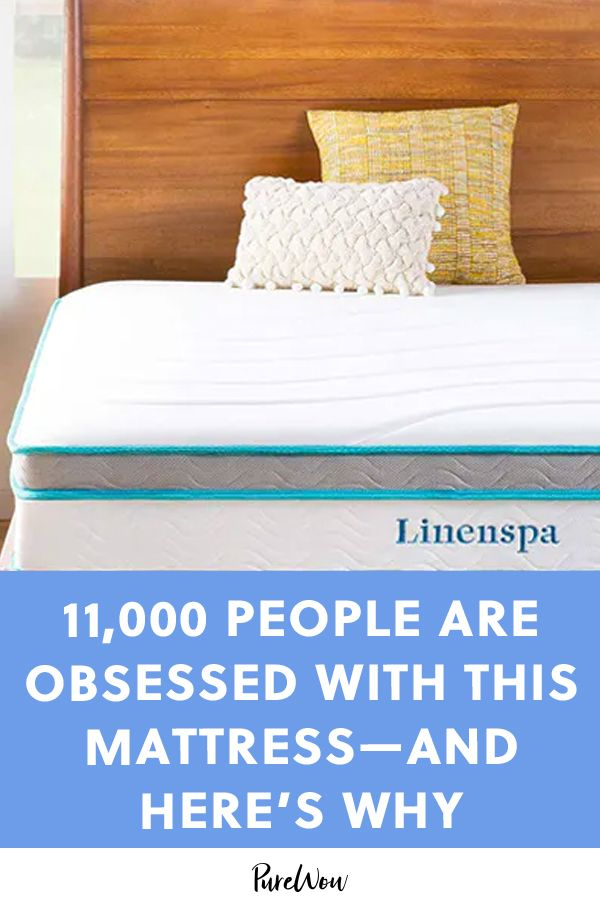 11,000 People Are Obsessed with This Mattress—and Here's Why #purewow #amazon shopping #home #amazon #bedroom #news