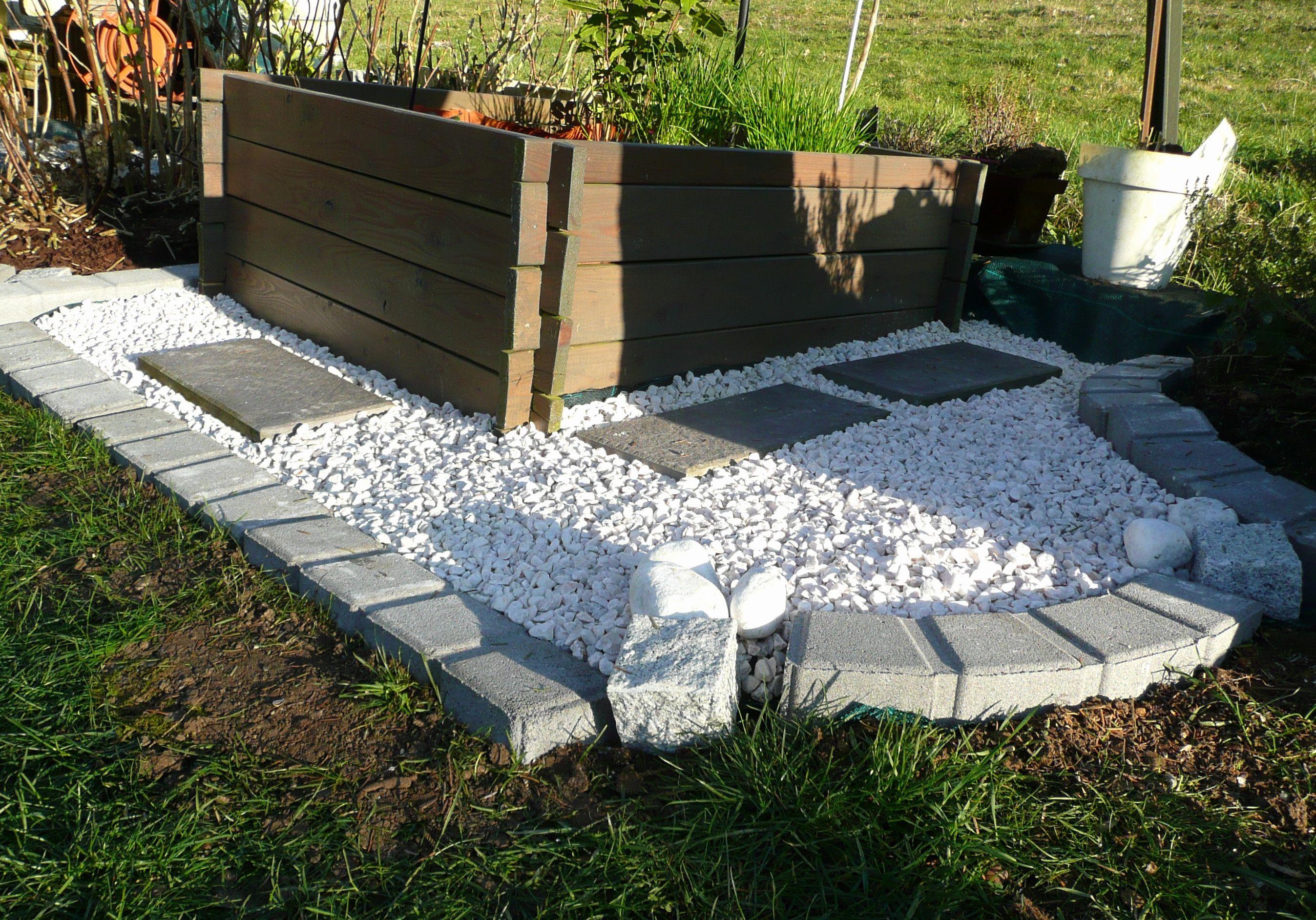 Amenagement Exterieur En Cailloux cailloux blanc jardin fresh amenagement jardin avec gravier