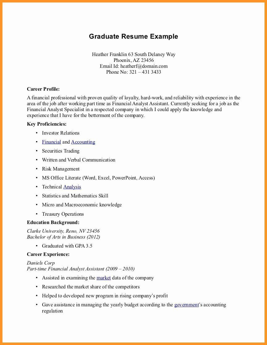 40 part time job resume in 2020 with images job resume