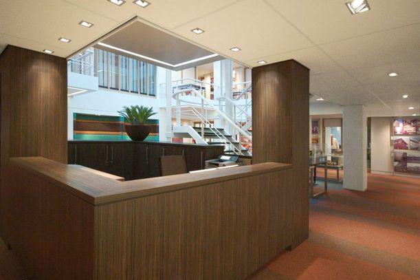 Studiozo design interieur kantoor pellikaan bouwbedrijf bv