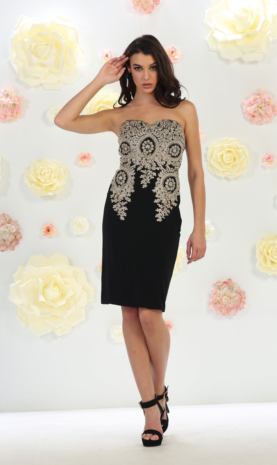 Thedressoutlet prom short cocktail dress plus size evening party