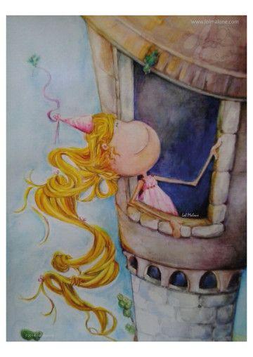 Coleccion cuadros infantiles originales by lol malone - Cuadros decorativos para ninos ...