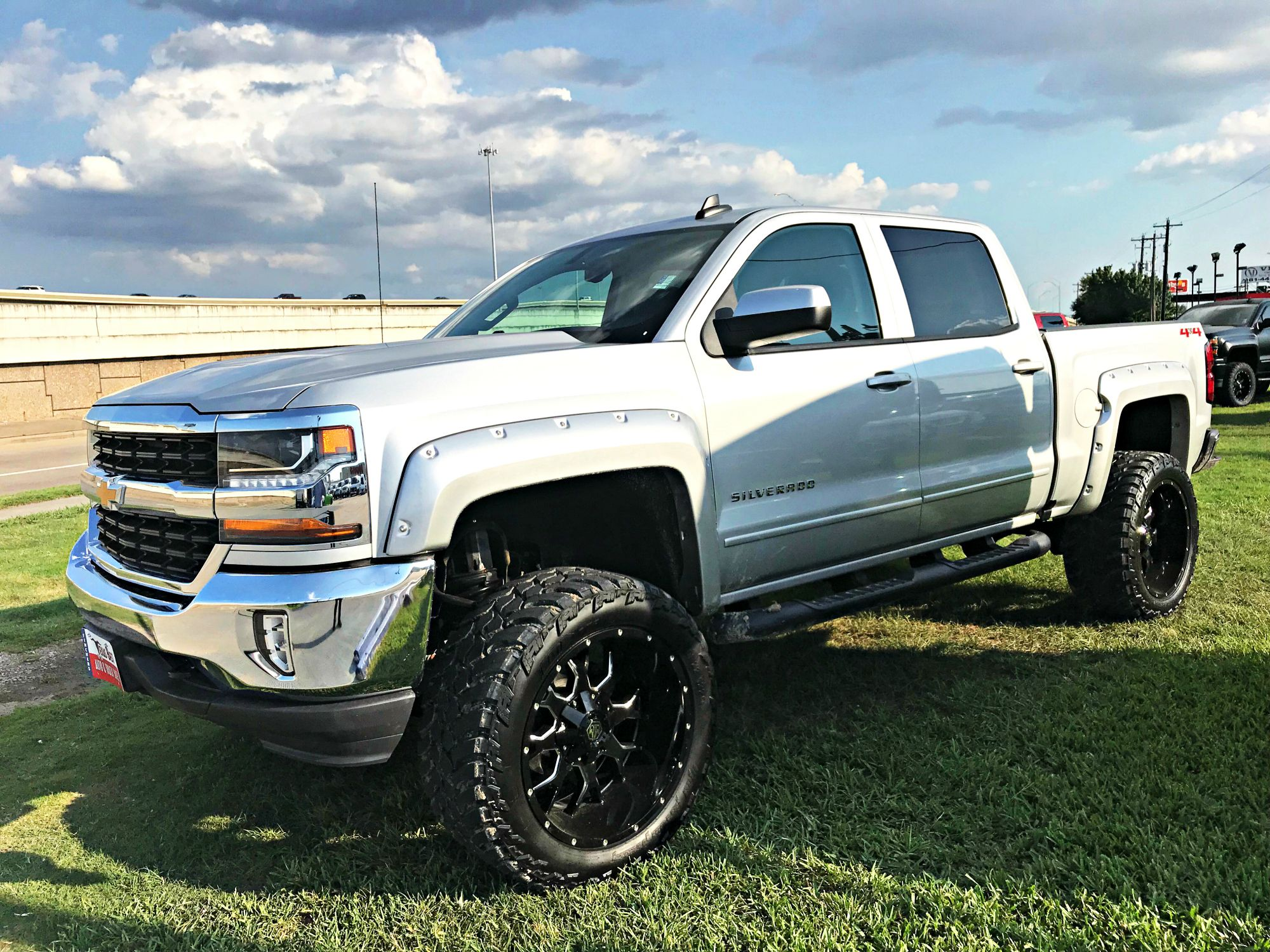 Check This Out Brand New Lift Flares Wheels And Tires 2018 Chevrolet Silverado 1500 Lt For Sale At Fincher S Texas Lifted Trucks Trucks Diesel Trucks