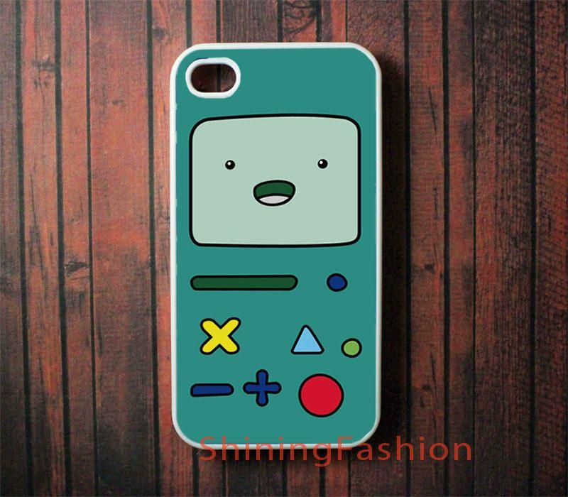BMO Beemo Adventure Time iPhone 4 Case, iPhone 4 Hard Case, iPhone 4s Case, iPhone Case. $5.99, via Etsy.