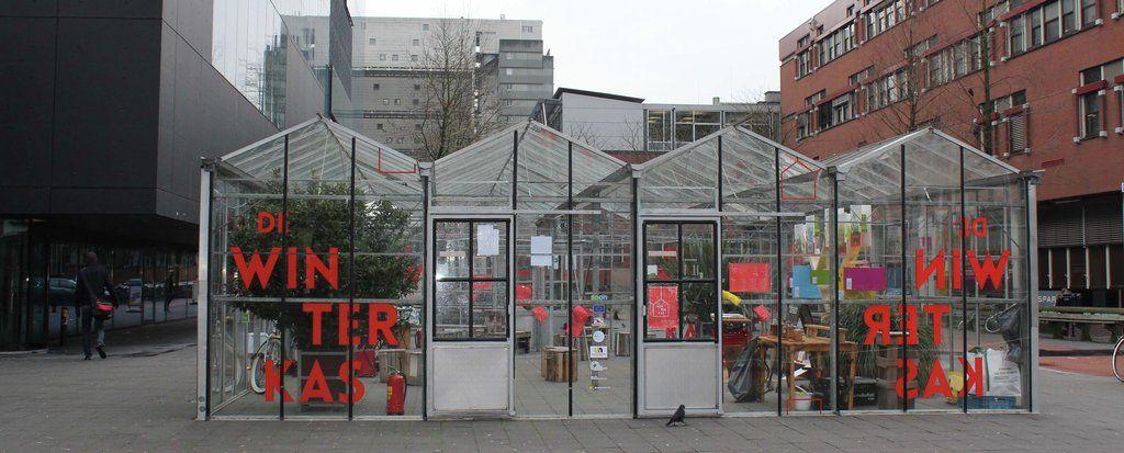 De Winterkas - Groene ontmoetingsplaats in De Uithof Utrecht